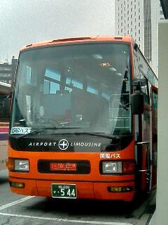 岡電バス岡山空港リムジンバス増備車(2004年5月19日撮影)