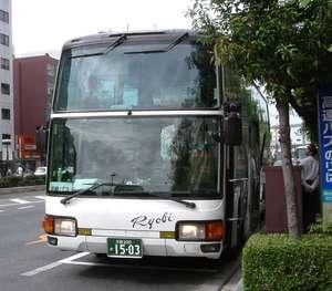 エアロクイーンMV(貸切からの転用車、2004年9月26日撮影)
